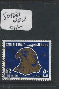 KUWAIT  (PP0705BB)  BIRD, FALCON  SG 1231   VFU