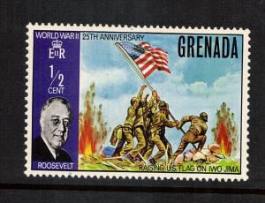 Grenada  Flag Raising at Iwo Jima...1 var..mnh