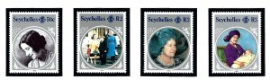Seychelles 567-70 MNH 1985 Queen Mother Birthday