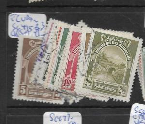 ECUADOR  (P1707B)   SC  475-483, C185-7    VFU
