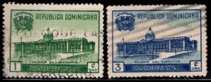 Dominican Republic Scott 428-429 Used  stamps