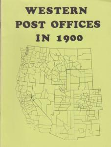 Western Post Offices in 1900, Raven Press, New