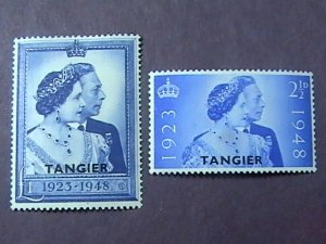GREAT BRITAIN/OFFICES ABROAD/TANGIERS-525-526-MINT/HINGED--COMPLETE SET--1948