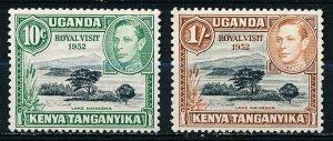 Kenya Uganda & Tanzania #98-99  Set of 2 MNH