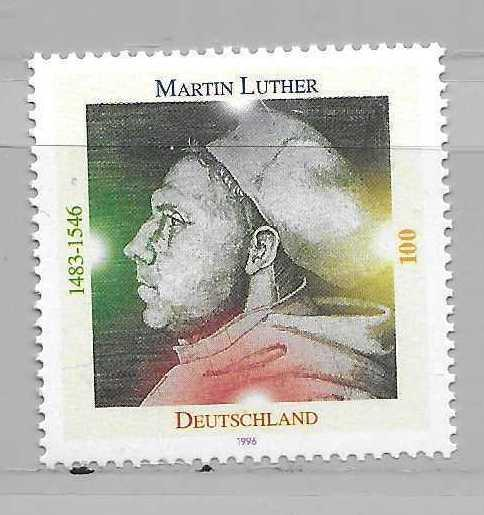Germany 1917 Martin Luther single MNH