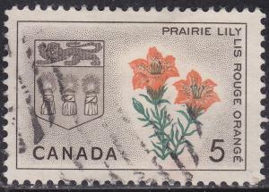Canada 425 USED 1966 Saskatchewan 5¢