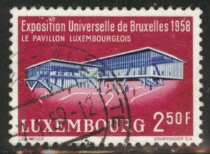 Luxembourg Scott 333 Used 1958 stamp