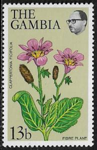 Gambia #359a MNH Stamp - Flowers