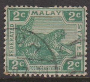 Malaya Federation Sc#52 Used