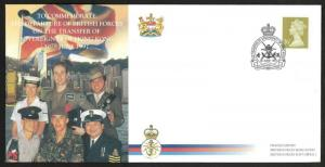 Hong Kong British Garrison transfer to China 1997 Commemorate Cover