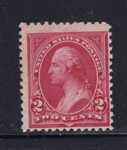 249 F-VF OG mint never hinged with nice color cv $ 450 ! see pic !