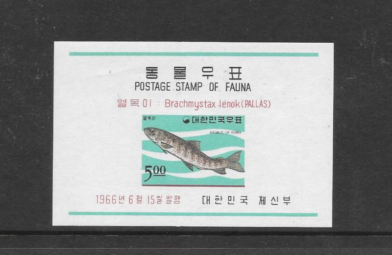 FISH - KOREA #497a
