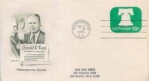 United States, Postal Stationery, Event, District of Columbia