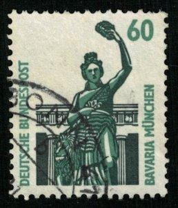 BAVARIA Munchen, Deutsche Bundespost, 60 Pf (3787-Т)