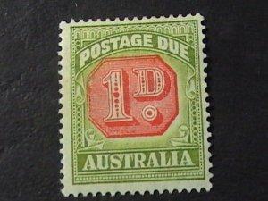 AUSTRALIA # J65-MINT/HINGED---POSTAGE DUE---1938