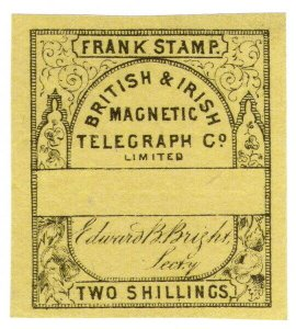 (I.B) British & Irish Magnetic Telegraph Company 2/- (no control)
