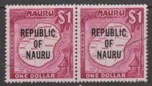 Nauru Sc#85 Used Pair