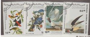 Mauritania Scott #C238-C241 Stamps - Used Set