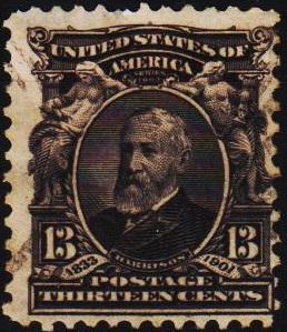 U.S.A. 1902 13c S.G.314 Fine Used