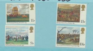 Great Britain Scott #863 To 866, 200th Anniversary of the Derby Issue From 19...