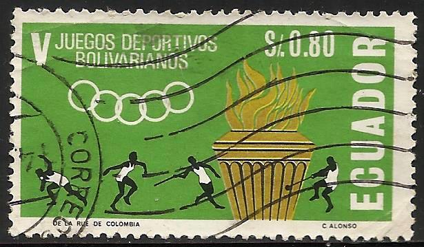 Ecuador 1965 Scott# 741 Used