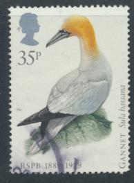 Great Britain SG 1422  Used   - RSPCB  Birds