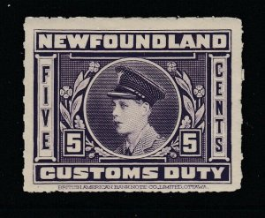 Canada, Newfoundland (Revenue) van Dam NFC3, MHR