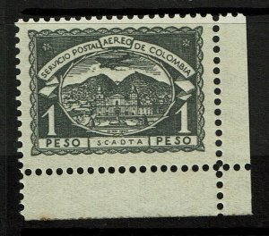 Colombia SC# C32, Mint Never Hinged, minor ink remnant and minor toning - S10304