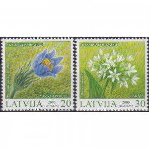 Latvia 2005 Protected Plants of Latvia  (MNH)  - Flora, Flowers