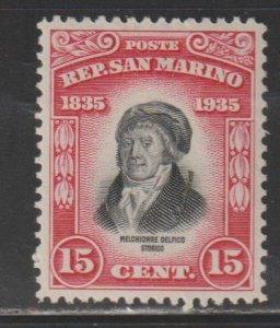 San Marino   SC   172   Mint  Hinged
