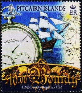 Pitcairn Islands. 2007 $10 Fine Used