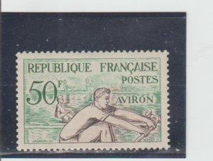 France  Scott#  704  MH  (1953 Rowing)