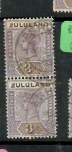 ZULULAND  (PP2305B)  QV  3D  SG 23 VERT PR   ESHOWE   CDS       VFU