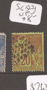 French Colonies SC 52 VFU (10cbf)