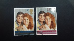 Great Britain 1986 Wedding of Prince Andrew and Sarah Ferguson  Used