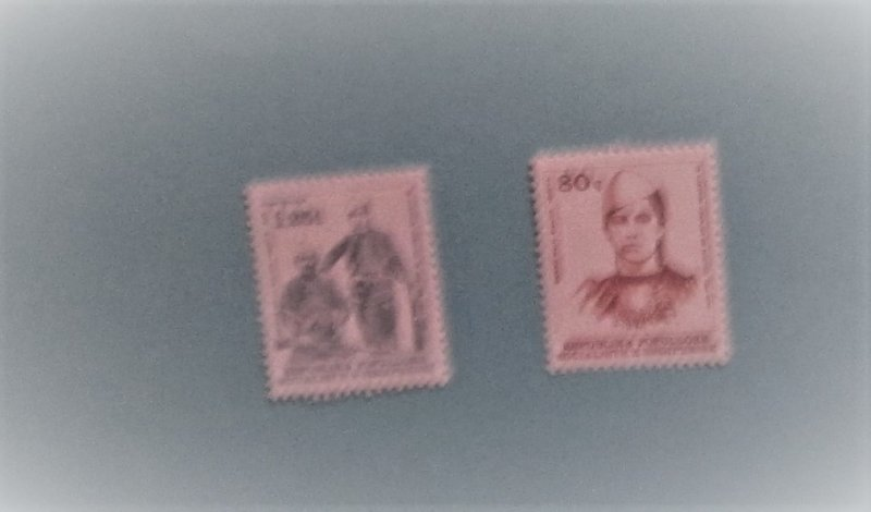 Albania - 1787 - 88, MNH Set. Qerime Halil Galca. SCV - $3.60