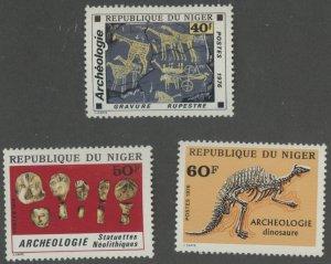 Niger 379-81 * mint hinged (2107 356)
