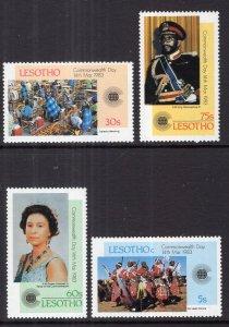 Lesotho 394-397 MNH VF