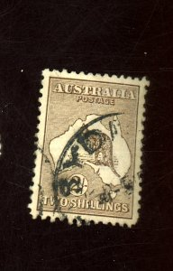 AUSTRALIA #52 USED F-VF Cat $28