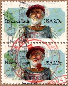 Scott 2024 Ponce de Leon -  Used Pair, Circular Cancel