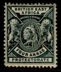 BRITISH EAST AFRICA QV SG70, 4a deep green, M MINT.