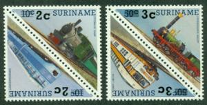 Surinam #889a-891a  Mint NH  Scott $4.50   2 Pairs
