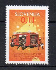 SLOVENIA - FIREMEN - FIRE TRUCK - 2017 -