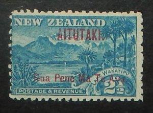 Aitutaki 3. 1903 2 1/2p Blue