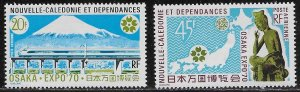 New Caledonia Scott #'s C78 - C79 MNH