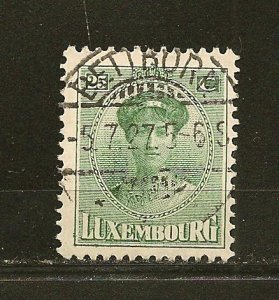 Luxembourg 141 Grand Duchess Used