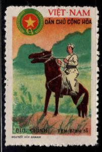 North Viet Nam Scott M5 Frontier Guard on Horseback nused  NGAI 1961