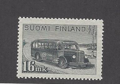 Finland, 253, Post Bus Single,  **VLH**