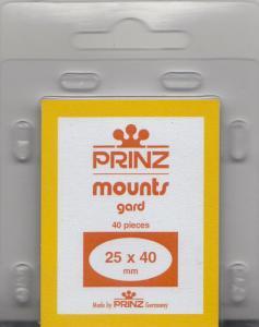 PRINZ BLACK MOUNTS 25X40 (40) RETAIL PRICE $3.99