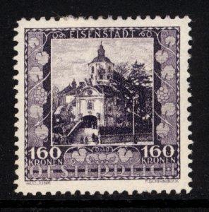 Austria 1923  Scott #B59 MLH
